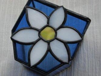 白い花のメディカルBOXの画像