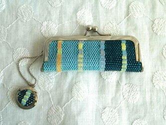 手織り印鑑ケース/ロートン織りの画像