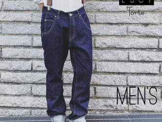 《Men's》デニムパンツ【INDIGO】の画像