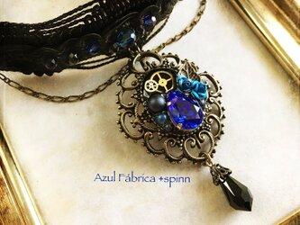 首飾り:gothic blueの画像