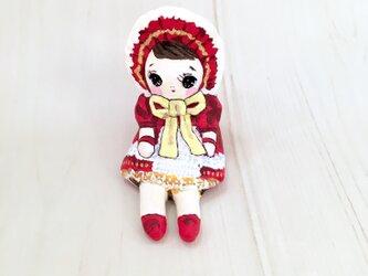 小さなお友達 文化人形赤レトロちゃんの画像