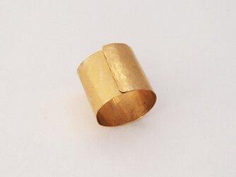 真鍮リング指輪 12号前後の画像