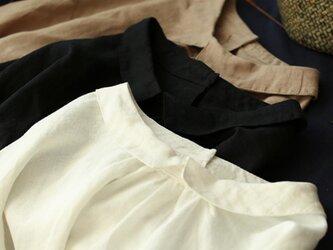 【受注製作】綿麻!可愛綿麻製トップス・ブラウス098078の画像