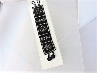 ビーズ織り【ブレスレット】ハロウィンシリーズの画像