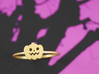 小さなジャックオランタン【ハロウィン】の画像