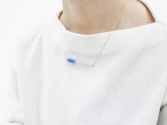 nagi ネックレス 水青の画像