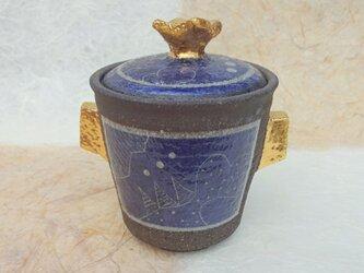 【好評】塩壺ブルーの画像