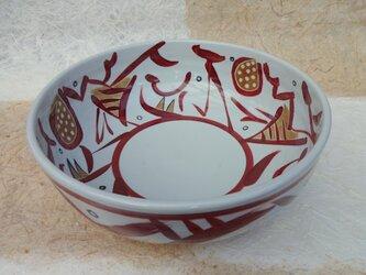 赤絵大鉢の画像