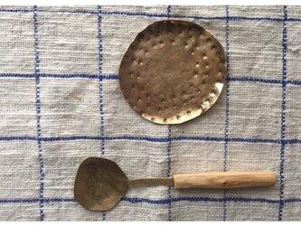 真鍮の小皿の画像
