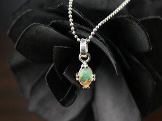 オパールペンダント【silver925】【Opal】の画像