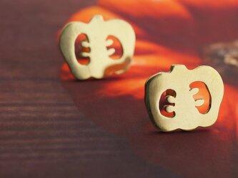 かぼちゃピアスの画像