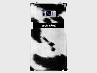 質感プリント アニマル柄 <牛>  xperia、Galaxy、iphone他多機種対応 ハードケースの画像