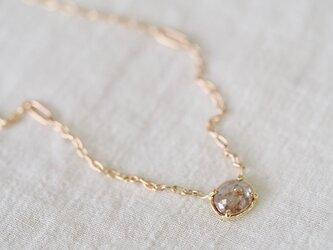Smoky Dusk Diamond Necklaceの画像