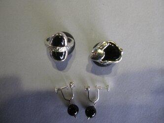 「黒水晶モリオン・オ-ダ-加工3点」Phoca様の画像