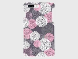 北欧デザイン ボタニカルフラワー(ピンク) iphone 6plus/7plus/8plus 専用ハードケースの画像