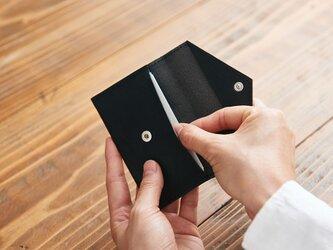 【再入荷】ミニマムカードケース / 封筒型レザーケース Sの画像