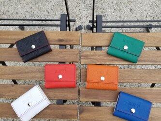RED LINE(レッド ライン)コンパクト3つ折り財布の画像