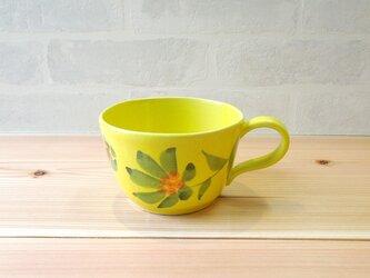 [受注制作]スープカップ HANA レモンイエローの画像