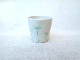 [再販]フリーカップ・フェンネル花文(白)の画像