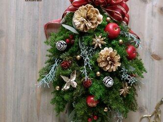 クリスマスワッグ(0318)~Christmas Swag~ 35X24の画像