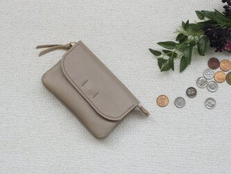 【再販】柔らかなお財布(beige)の画像
