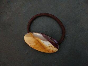 天然石の髪飾り「ムーアカイト」の画像