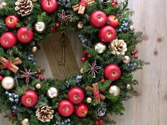 クリスマスリース(0418)~Santa's Magic Key(R)~ 30cmの画像