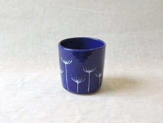フリーカップ・フェンネル花文(青)の画像