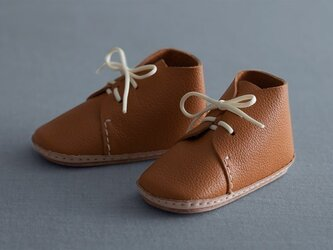 my first baby shoes nico キャメルの画像