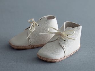 my first baby shoes nico ホワイトの画像