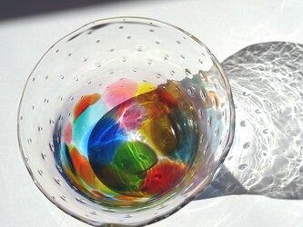 キラリ レインボーバブル デザートカップの画像