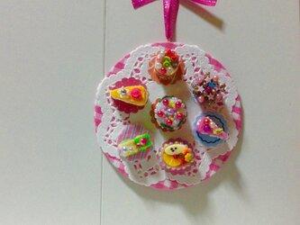 何処でも飾れるケーキコレクションの画像