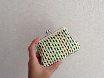 【受注制作】竹 - クレジットカードケース/がま口ポーチの画像