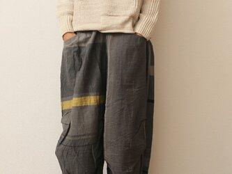nica pants FUTO cotton(冬コーデバージョン)の画像