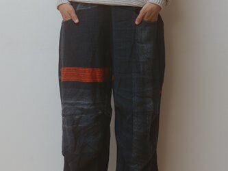 【NEW】nica pants HOSO wool70 cotton30の画像