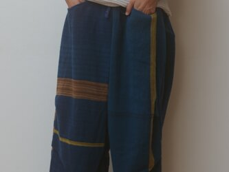 【NEW】nica pants FUTO wool70 cotton30の画像