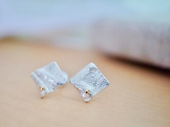 シューティングスター ピアス / Shooting Star Earrings Silver With K18の画像