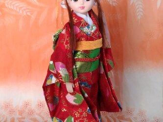 リカちゃん着物 紅姫の画像