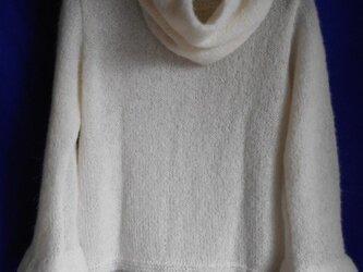 アルパカのデザインセーター&カウルの画像
