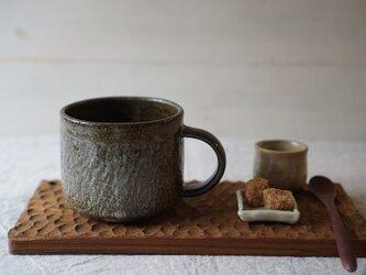 灰釉のマグカップ No.1020の画像