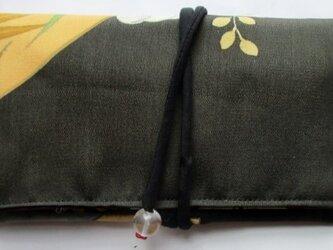 送料無料 色留袖で作った和風財布・ポーチ 3837の画像