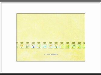 「アートインテリアポスター」 ほっこり癒しのイラストA4サイズポスターNo.568の画像
