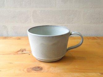 ヴィンテージ風マグカップ グレーマットの画像