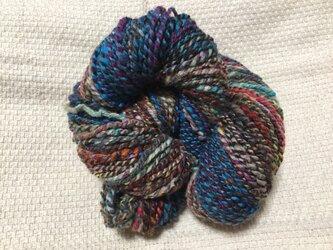【手紡ぎ糸(スピンドル)の販売です✨】  メリノウール その他 79gの画像