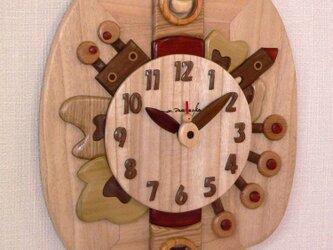 木時計 リーフの画像
