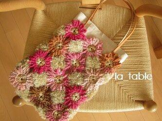 花たくさんのバッグ「FLOWER BOUQUET」の画像