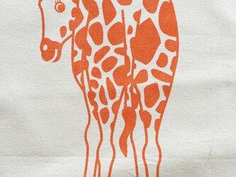 キリンのエコバッグの画像