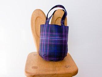 タータンチェックのお散歩バッグ【Scotland forever】の画像