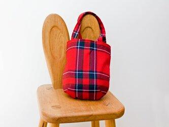 タータンチェックのお散歩バッグ【Inverness】の画像