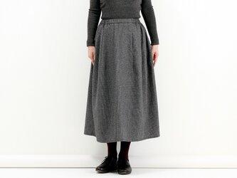 ギャザースカート(千鳥)#214の画像